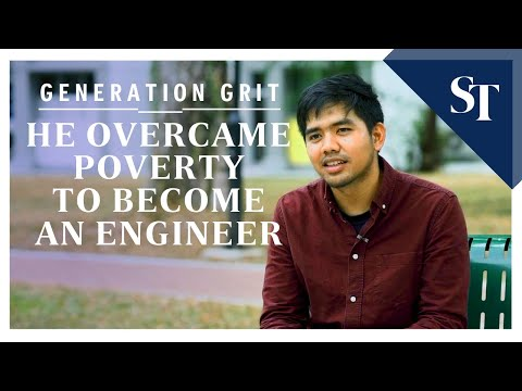 Generation Grit: He Overcame Poverty To Become An Engineer   The Straits Times