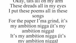 [Ambition] Tats on My Arm - Wale Ft. Rick Ross (LYRICS)