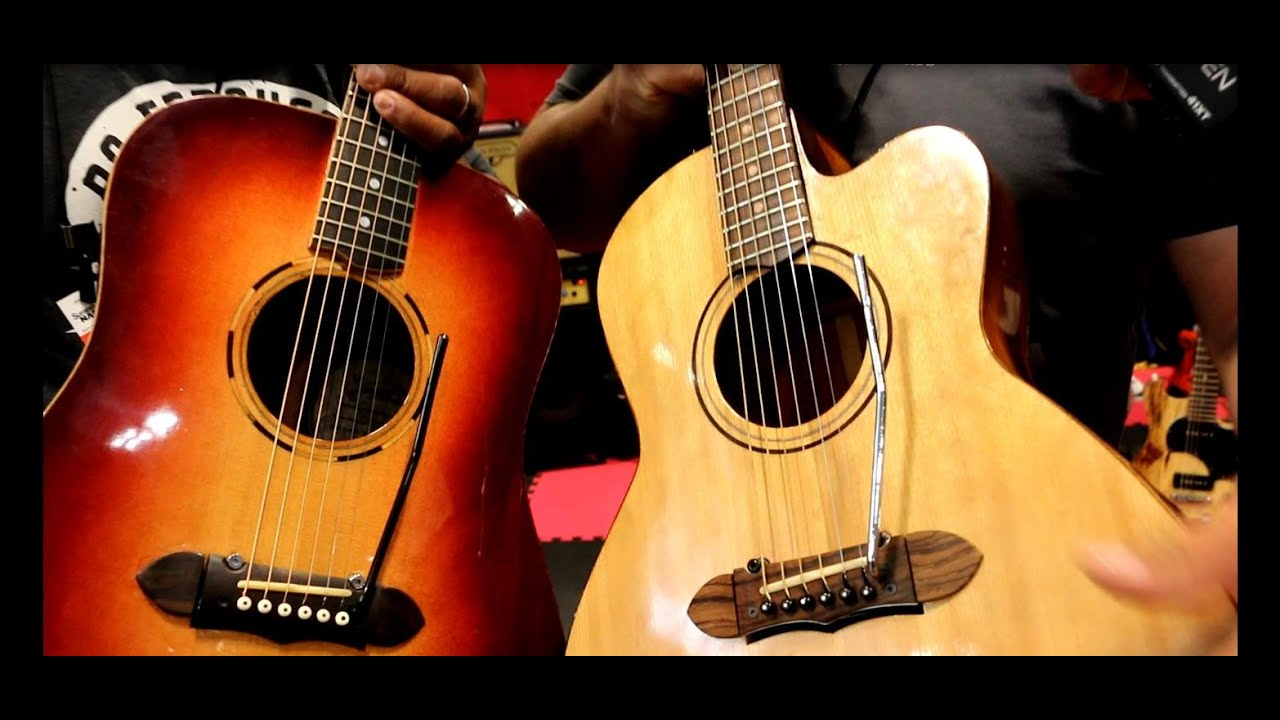 Summer Namm 2015 The P H A T Company The 1st Acoustic Guitar