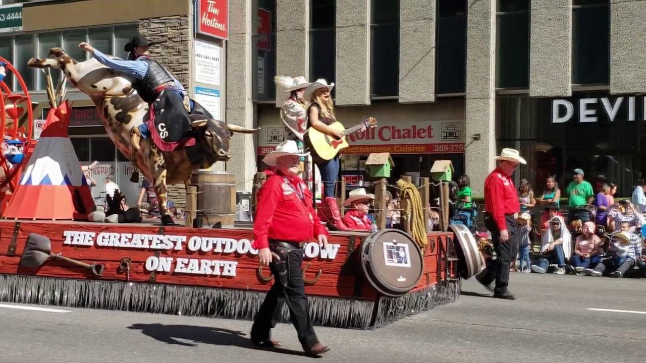 Calgary Stampede Parade 2018 Youtube