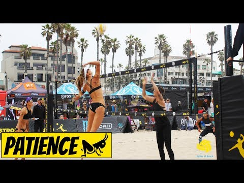 Ask A Pro Beach Volleyball Player: How To Wait For The Ball Before Attacking