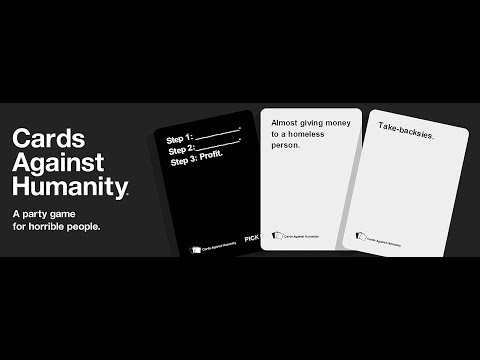 WELCOME TO THE CARDS | Cards Against Humanity