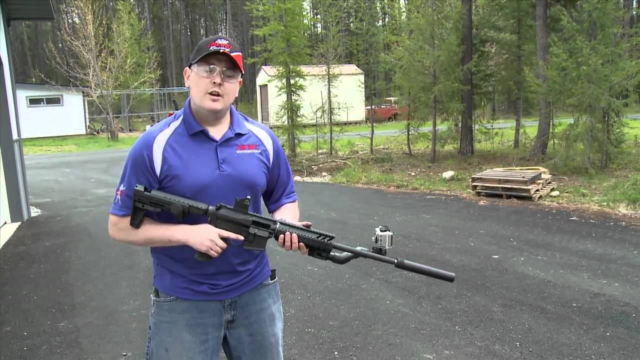 Suppressed 9mm Carbine Test Shoot