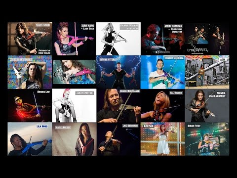 World's Best Electric Violinists presented by Mark Wood Violins (part 1)