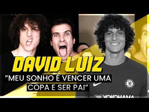 """DAVID LUIZ: """"SONHO VENCER UMA COPA E SER PAI"""""""