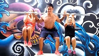 Using Humans As Free Weights And Other Boss Gym Moves | Ultimate Compilation
