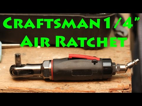 Craftsman Air Ratchet Review
