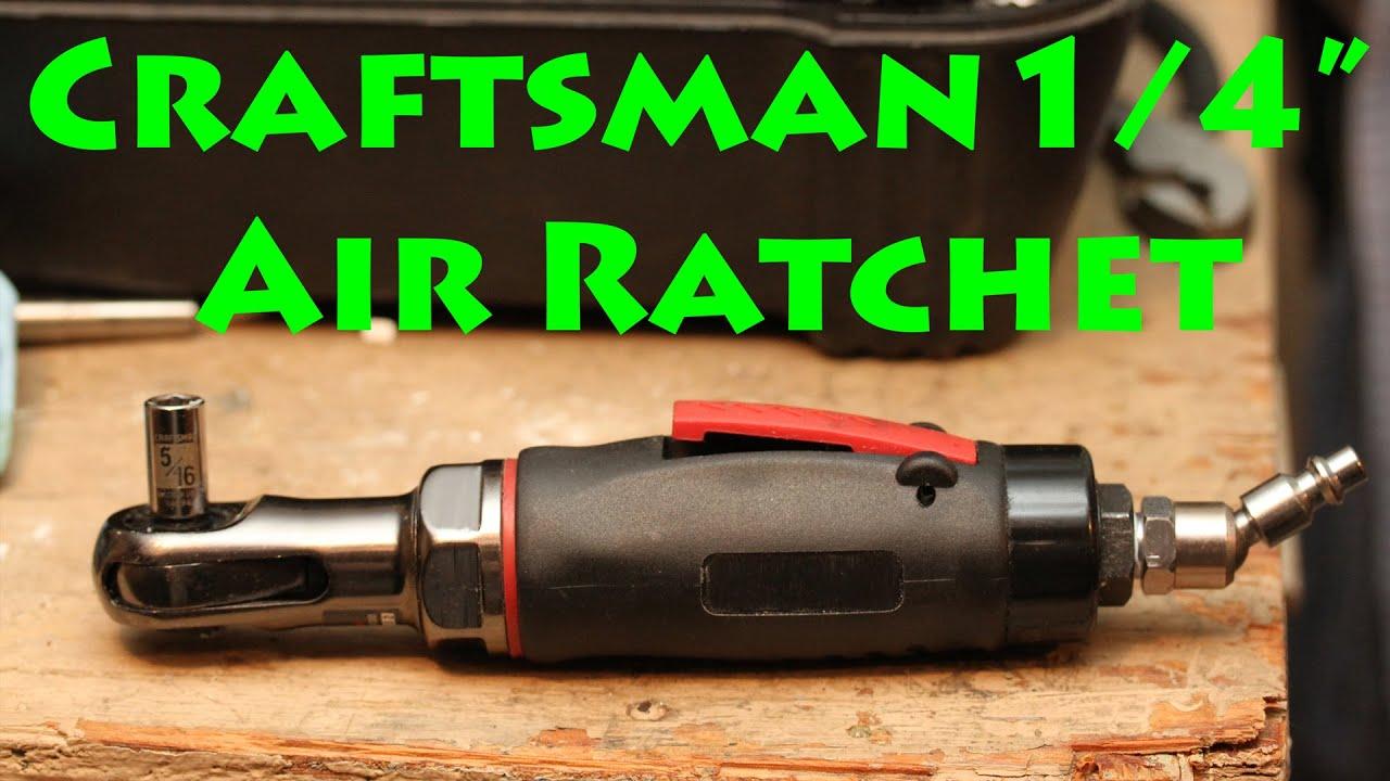 Craftsman Air Ratchet Review