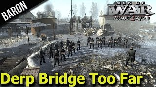 Men of War Assault Squad 2 GSM Mod - Konigsberg Station, German Defense! (MOWAS 2 Gameplay)