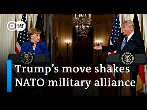 Trump confirms plan to withdraw US troops from 'delinquent' Germany | DW News