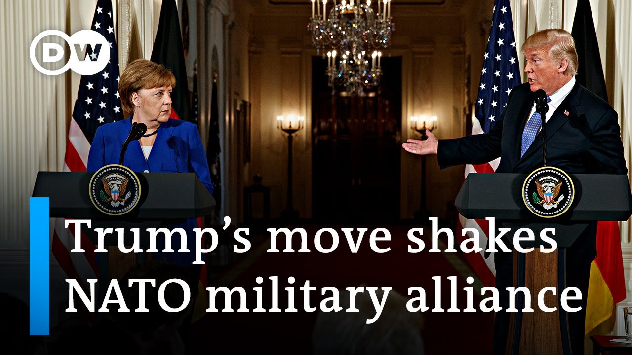 Trump confirms withdrawing US troops from 'delinquent' Germany | DW News