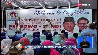 Download Video Relawan Nasional Buruh Migran Deklarasikan Dukung Prabowo-Sandiaga Uno - BIS 21/10 MP3 3GP MP4