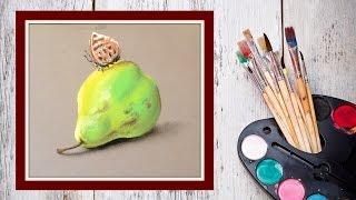 Как нарисовать грушу пастелью! #Dari Art