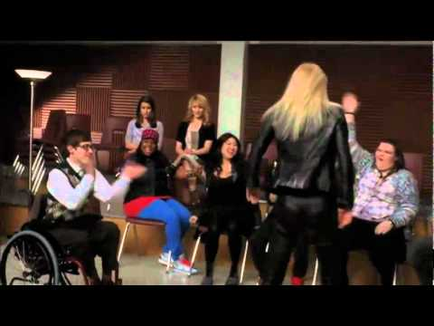 GLEE   Do You Wanna Touch Me Full Performance feat  Gwyneth Paltrow!   YouTube