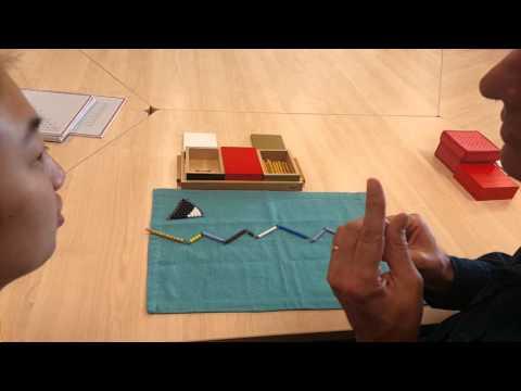 Montessori Math Additions Snake Game