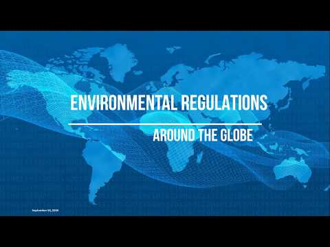 Environmental Regulations Around the Globe