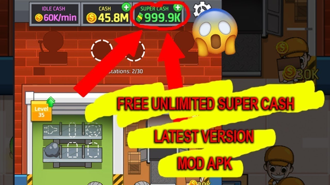 idle factory tycoon mod apk new version