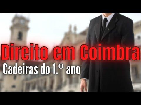 Como é estudar Direito em Coimbra? || Cadeiras e Conselhos para o 1.º ano
