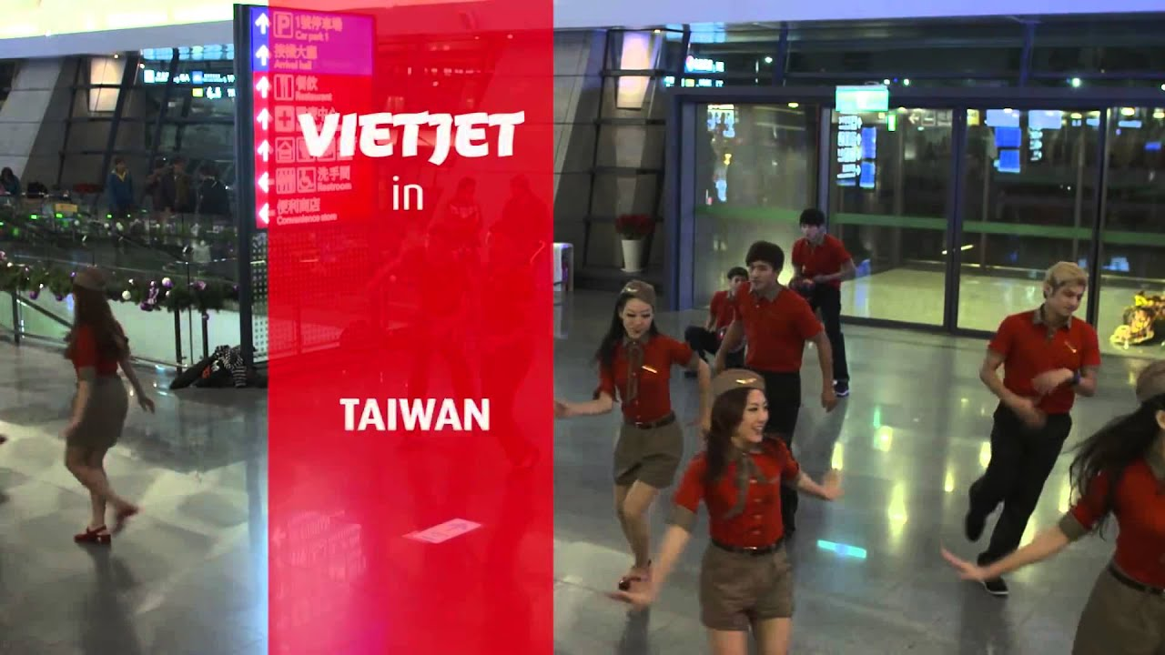 VietJet Air – nhảy Flashmob tại sân bay – MOBILAND SAIGON