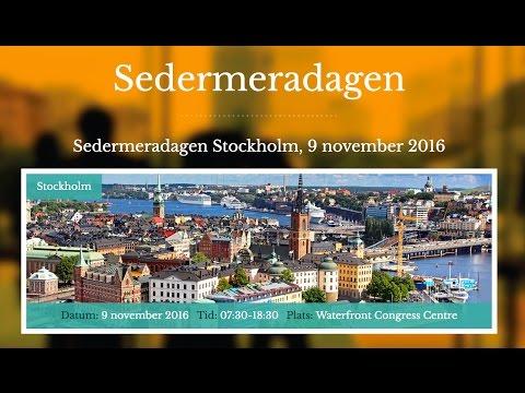 Sedermeradagen Stockholm 2016 - LIVE