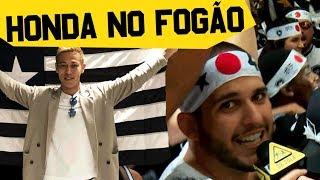 A LOUCA CHEGADA DE HONDA NO BOTAFOGO!