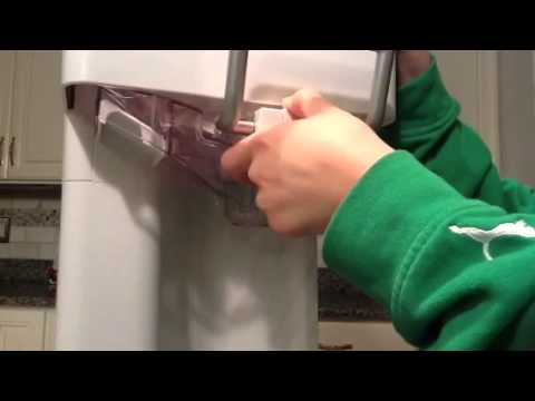 How to replace the handle on a ice cream maker