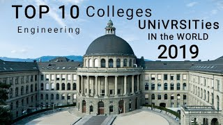 Top 10 Best Engineering college Universities in the World 2018 🆕: University Ranking