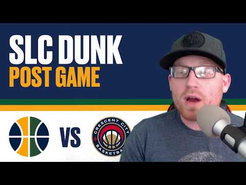 Utah Jazz vs New Orleans Pelicans: Post Game Reaction - Anthony Davis triple double with BLOCKS!
