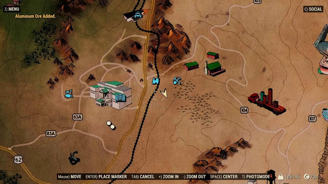 fallout 76 iron mine