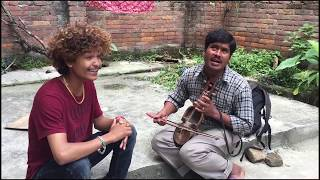 Tanka Timilsina with gaine dai gorkha mana kamana dohori song