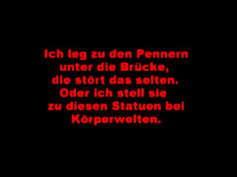 Sido ft. SDP ~ ne leiche (lyrics)