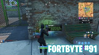 Fortnite Battle Royale ? Fortbyte Challenges How to get the Fortbyte #91