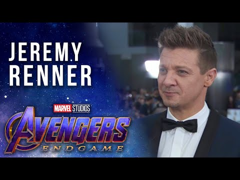 Jeremy Renner talks prepping as Hawkeye for Avengers: Endgame at the World Premiere