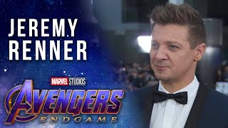 Jeremy Renner at the Premiere