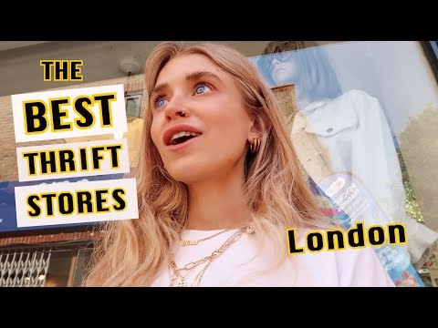 The BEST Thrift Stores In London *cheap*   2019 VLOG