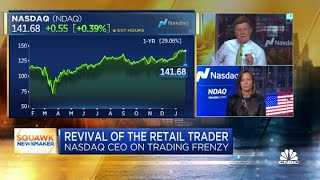 Nasdaq CEO on monitoring stock trading fueled by social media