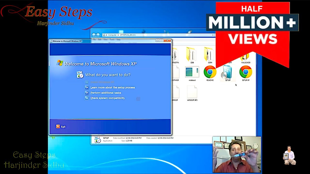 usb boot disk for windows xp free download