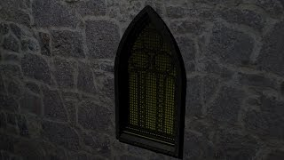 Maya 2014 tutorial : How to model a Gothic Church window