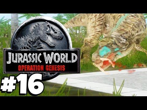 Jurassic Park: Operation Genesis   DINOSAUR BREAKOUT (Playthrough Part 16)