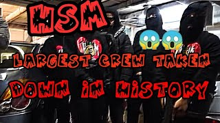 WTF?!😱|UK REACTS TO BOSTON DRILL - HSM : The Largest Crew Taken Down In Rap History (Reaction)