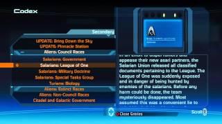 Mass Effect Bonus Codex HD (Xbox 360)