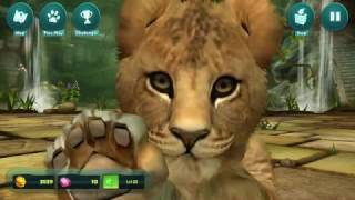 "Jessie670 Plays: ""Kinectimals Unleashed"" (Part 7, No Commentary) - Meet Ulrica, the Asiatic Lion Cub"