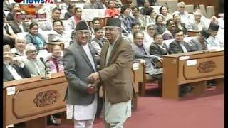 सरकारविरुद्ध अविश्वासको प्रस्तावमा उठेका प्रश्नहरुको प्रधानमन्त्री ओलीले दिएको जवाफ - NEWS24 TV