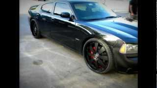 2007 SRT8 Dodge Charger Supercharged on 24s Cartel Customs BigIrv305 Swirve Productions