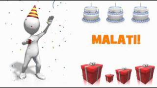 HAPPY BIRTHDAY MALATI!