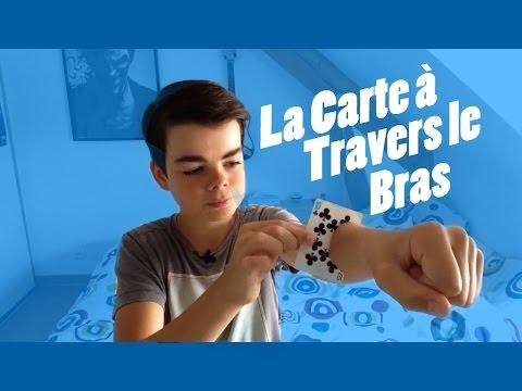 LA CARTE À TRAVERS LE BRAS !? RÉVÉLATION !?
