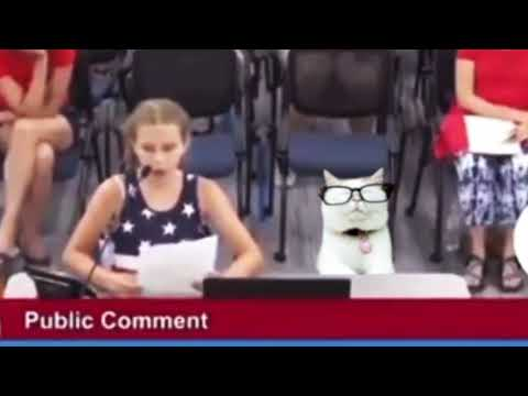9 years old and already has more courage than most Republican Politicians!!!
