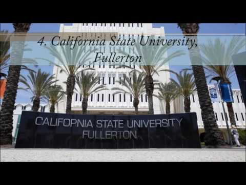California University--Top 10 affordable universities in California