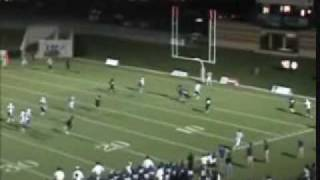 Southeastern Oklahoma State Football Highlights 2009 (Part 1)