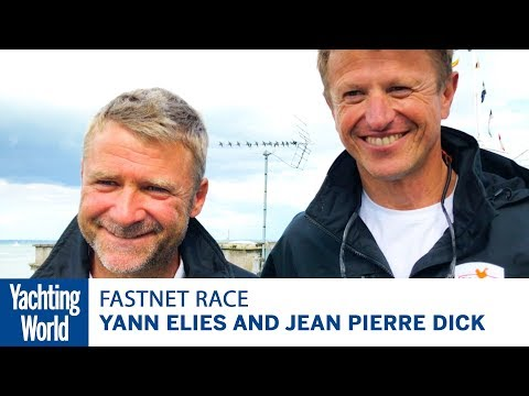 Yann Elies and Jean-Pierre Dick | Rolex Fastnet Race 2017 | Yachting World